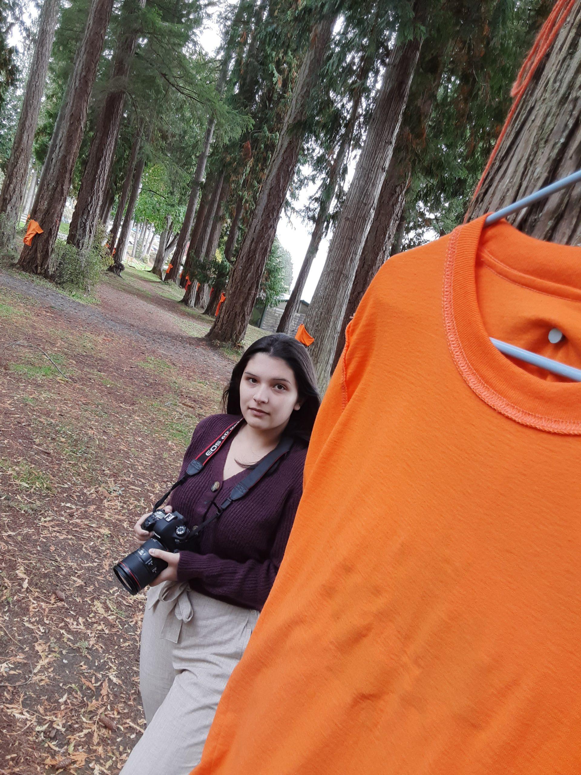 Reporter Abby Francis by Pieta Woolley, qathet Living